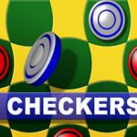 Online checkers game for money