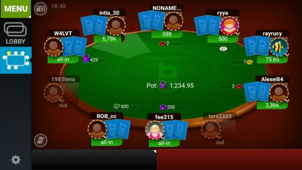 Get money in poker