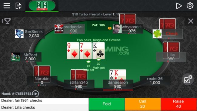 What is equity denial in poker
