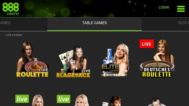 888 casino for android