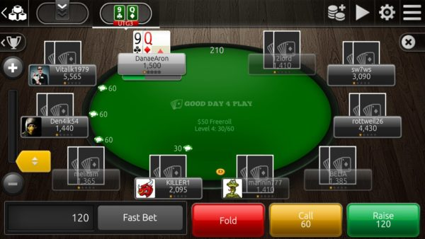 Poker tournament manager app